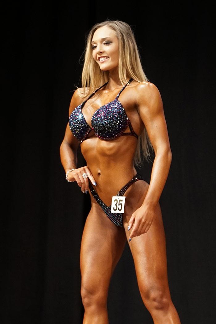Siegerin Fitness Klasse III
