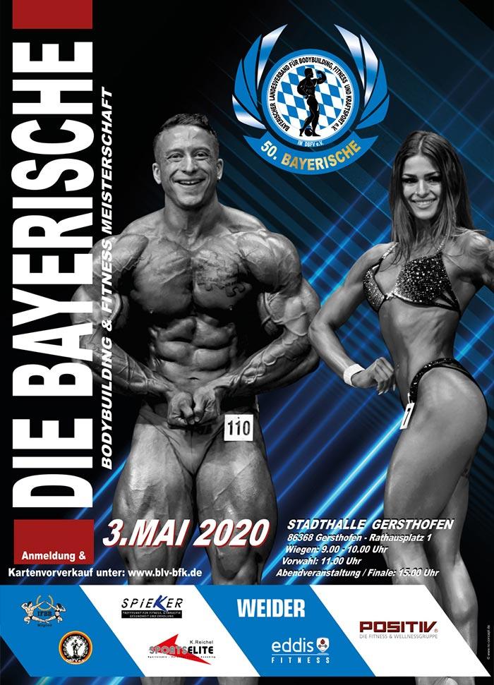 Bayerische Bodybuilding Meisterschaft 2020