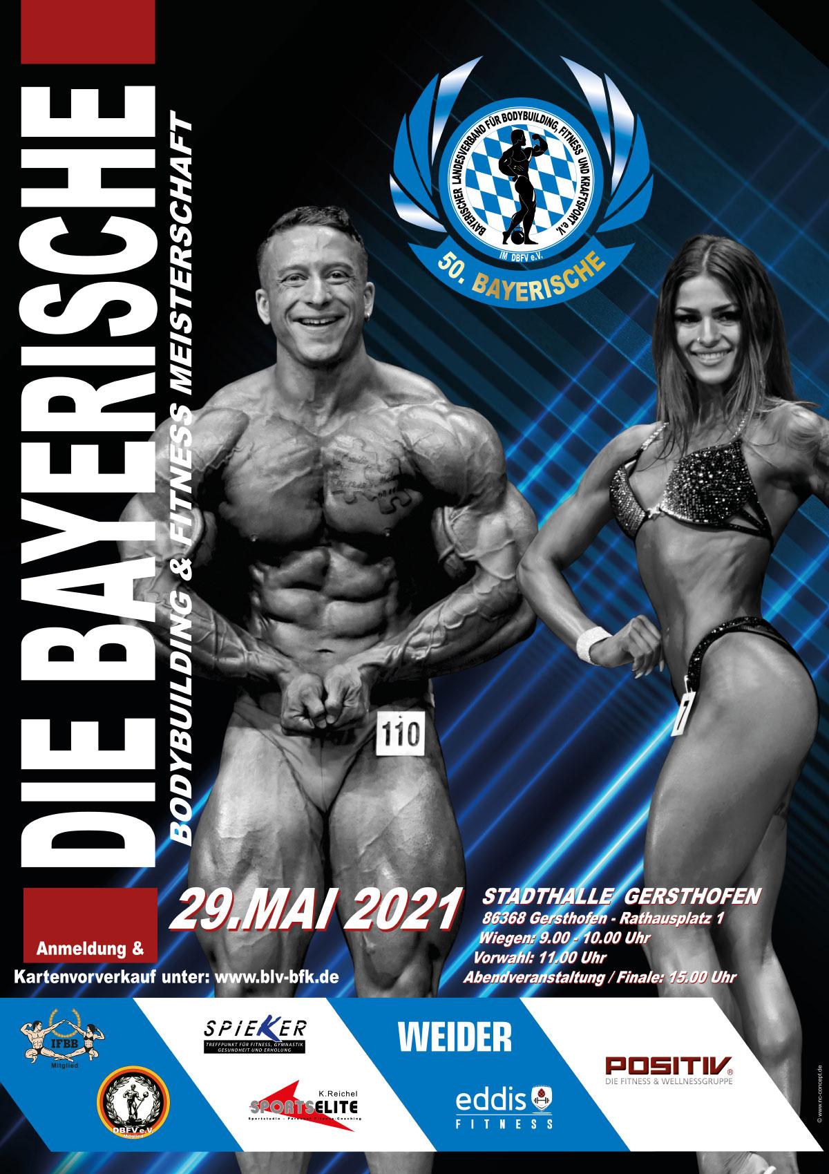 Bayerische Bodybuilding Meisterschaft 2021