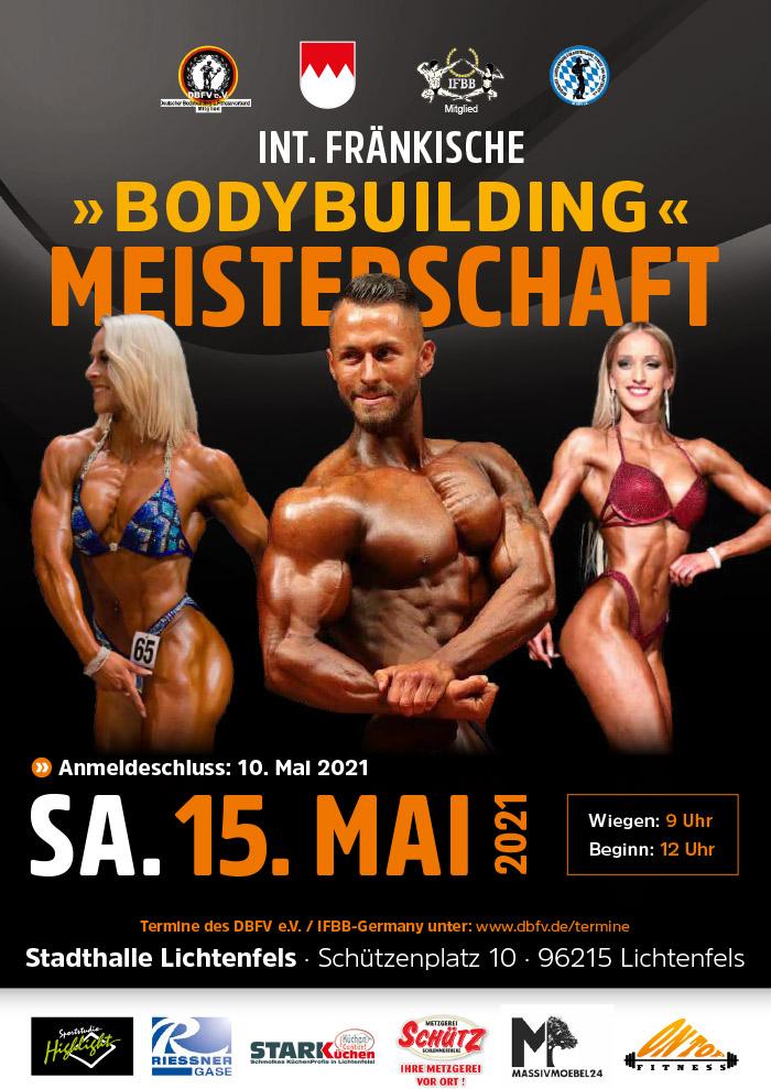 Fränkische Bodybuilding-Meisterschaft 2021